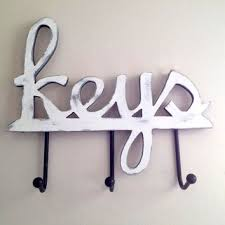 Home decor, housewares, wall decor, key holder, hanging key holder, key