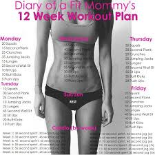image result for 10 week no gym home workout plan