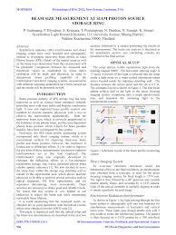 (PDF) Beam <b>size</b> measurement at <b>Siam</b> Photon Source storage ring