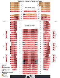 cap seating chart