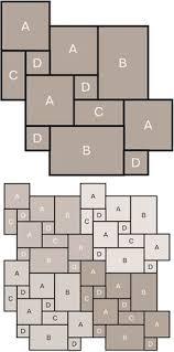 Stone Tile Laying Pattern  Marshalls Roman Opus