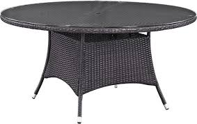 amelia round outdoor patio dining table