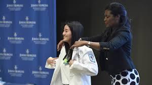 <b>Nursing</b> students receive their <b>white coats</b>   Hub