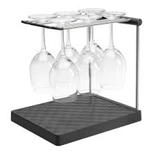 Wine Glass Rack From Kohler Collapsible And Comfortable For Drip