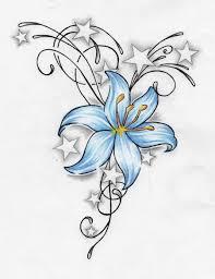 Motiv Tetování Kytky 1079