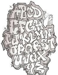 Graffiti Letters Easy Letter Template Inspirational Alphabet