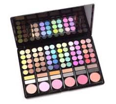 shany professional makeup kit palette set of 78 colors shot