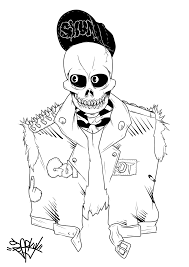 how to draw sparky the fire dog. undead skull punk by sparky-j how to draw sparky the fire dog