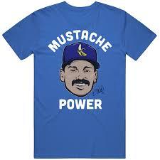 Kike Hernandez Mustache Power T Shirt