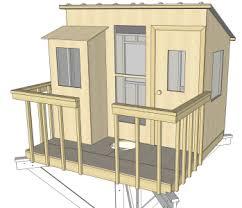 tree house plans. Kauri One Tree House Plans