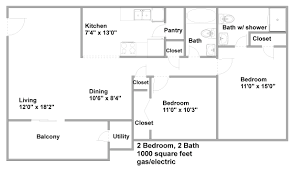 Modern 2 Bedroom Apartment Floor Plans Apartments Floor Plans Pricing For Hills Apartments 2 Bed 2