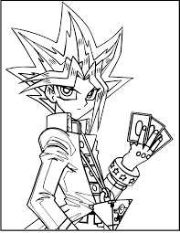 You know how yugioh is a lot of card games with a little magic thrown into the mix? Yami Yugi Character Yu Gi Oh Coloring Pages For Kids Hcc Printable Yu Gi Oh Coloring Pages For Kids Dibujos De Anime Anime Dibujos