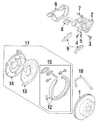 Genuine buick caliper bolt bui 89027183
