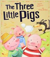 three little pigs my first fairy tales three little pigs set off to build themselves new homes but someone big and bad soon es looking for a tasty