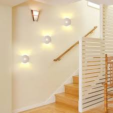Image Stairwell Modern Sconce Stair Wall Lamp Light 1w 3w Aluminum Up And Down 110v 220v Aisle Corridor Aliexpress Modern Sconce Stair Wall Lamp Light 1w 3w Aluminum Up And Down 110v