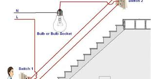 two way light switch diagram or staircase lighting wiring diagram 2 way lighting circuit wiring diagram uk two way light switch diagram or staircase lighting wiring diagram