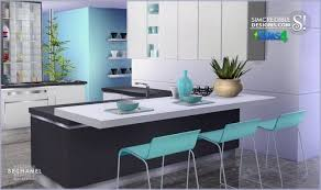 sims 4 kitchen design. bechamel kitchen at simcredible designs 4 sims design n