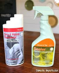 how to get grout haze off tile grout haze remover and sealer grout haze vinyl tile