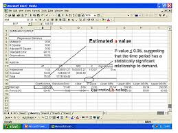 forecast model in excel single regression approaches to forecasting a tutorial scm
