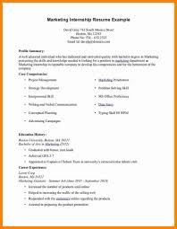 Accounting Internship Resume Tomyumtumweb Com