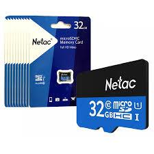 Thẻ nhớ Micro SD 32G NETAC Class 10/90 Mbs - Hàng Chính Hãng giá rẻ tại Đà  Nẵng   GIA TÍN Computer