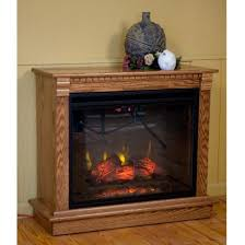 Fireless Fireplace Also With A Heat Surge Amish Also With A Led Amish Fireless Fireplace