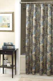 epic window treatment decoration with slate blue curtain exquisite picture of bathroom decoration using fl