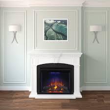 fireplace mantels. Napoleon Fireplace Mantel Series NEFP330214W - Lifestyle View Mantels