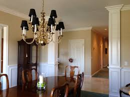 dining room chandelier brass. Dining Room Chandelier Brass Room: Great Design With Grey And White Floral