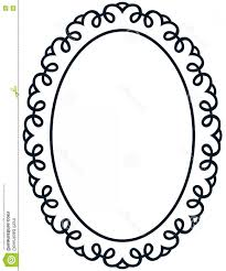 Antique frame drawing Clip Art Stock Illustration Oval Border Photo Frame Deco Vector Simple Vertical Line Baroque Vintage Image Etsy Antique Oval Frames And Borders Vector Sohadacouri