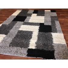 56 best black and white area rugs images on carpet for grey ideas 15