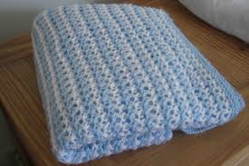 Favorite Blue/White Blanket