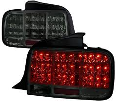 05 09 mustang taillights gen 10 led built in sequential blink 1 2