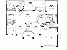 one story 4 bedroom house plans home decor remodeling ideas stuning 1