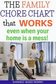 How We Get Home Chart Our Easy Family Chore Chart Plus Why You Need One