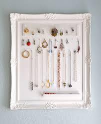 do-it-yourself jewelry storage