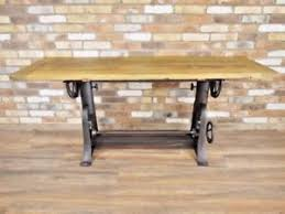 industrial dining furniture. Image Is Loading Vintage-Draft-Table-Industrial-Dining-Table -Adjustable-Height- Industrial Dining Furniture