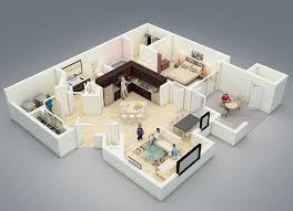 One Bedroom Design Fantastic Studio Apartment Floor Plan Design Shows One Bedroom