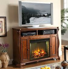 impressive gas fireplace tv stand home design ideas throughout