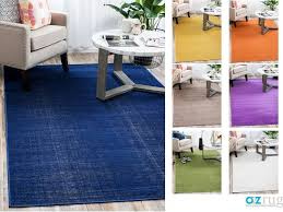 details about modern plain area rug contemporary large small round carpet design style