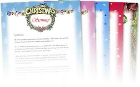 Free Letter From Santa Word Template Free Letters From Santa Free Personalized Printable Santa