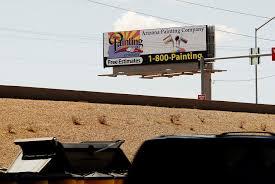 arizona painting company billboard 1 800 painting santan freeway loop 202