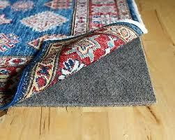 rug pad usa rph 810 rubber backed felt plush hold rug pad 8
