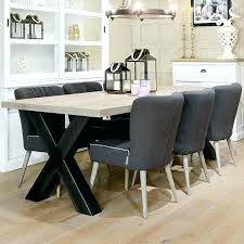 industrial dining room sets industrial kitchen table furniture industrial dining room furniture cross leg oak table