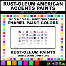 Rust Oleum American Accents Color Chart Heirloom White American Accents Enamel Paints 209688