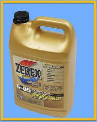 1 Gallon Engine Motor Coolant Antifreeze Concentrate Valvoline Zerex Yellow Ebay