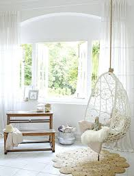 hanging chair for room dreamy girls room with bay hanging chair and armadillo co rug hanging hanging chair