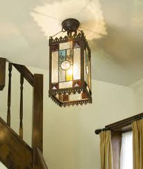 victorian hall lantern height 495mm