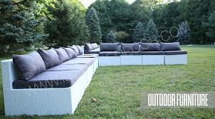 White outdoor furniture Metal White Wicker Outdoor Furniture Rentals Ilounge Decor Outdoor Furniture Rentals Of Nj