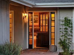 dutch doors contemporary entry